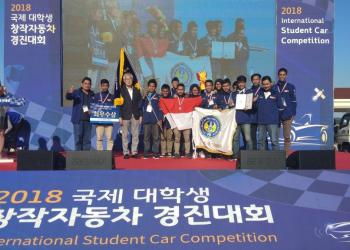 Garuda UNY raih best of the best ISCC 2018 di Korea Selatan